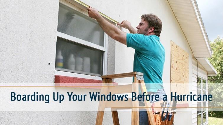 Boarding Up Your Windows Before Hurricane Stucco Repair Pros